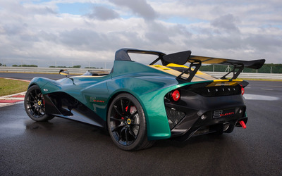 2016 Lotus 3-Eleven back side view wallpaper
