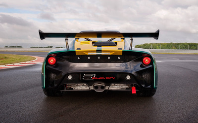 2016 Lotus 3-Eleven back view close-up wallpaper