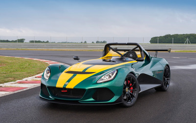 2016 Lotus 3-Eleven front side view wallpaper