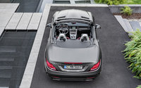 2016 Mercedes-Benz SLC 300 back view from above wallpaper 3840x2160 jpg