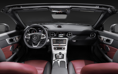 2016 Mercedes-Benz SLC 300 dashboard wallpaper