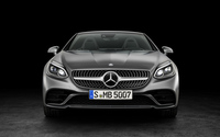 2016 Mercedes-Benz SLC 300 front view wallpaper 3840x2160 jpg