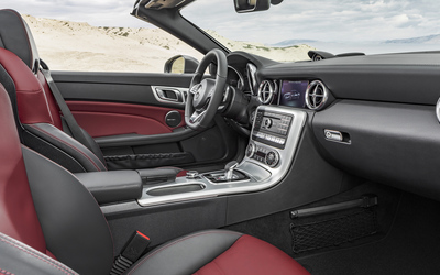 2016 Mercedes-Benz SLC 300 interior wallpaper