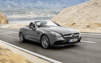 2016 Mercedes-Benz SLC 300 on the road wallpaper 2560x1600 jpg