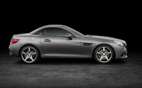 2016 Mercedes-Benz SLC 300 side view wallpaper 3840x2160 jpg
