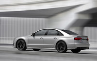2016 Silver Audi S8 side view wallpaper 2560x1600 jpg