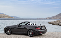 2017 Mercedes-AMG SLC 43 back side view wallpaper 3840x2160 jpg