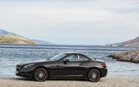 2017 Mercedes-AMG SLC 43 by the lake wallpaper 3840x2160 jpg