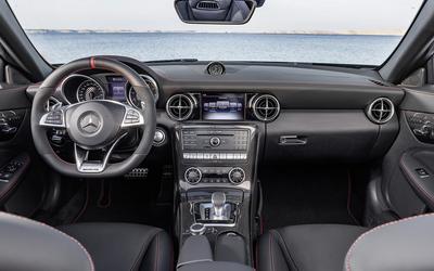 2017 Mercedes-AMG SLC 43 dashboard wallpaper