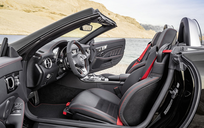 2017 Mercedes-AMG SLC 43 interior wallpaper
