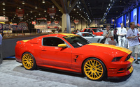 3d Carbon Ford Mustang wallpaper 1920x1080 jpg