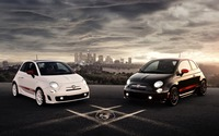 Abarth Fiat 500 wallpaper 2560x1600 jpg