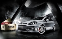 Abarth Fiat Punto wallpaper 1920x1200 jpg