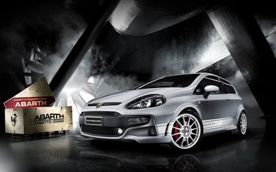 Abarth Fiat Punto wallpaper