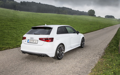 ABT Audi RS 6 quattro back side view wallpaper