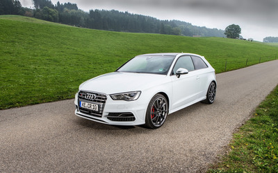 ABT Audi RS 6 quattro front side view wallpaper