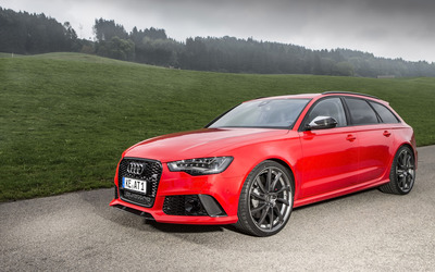 ABT Audi RS 6 quattro front view wallpaper