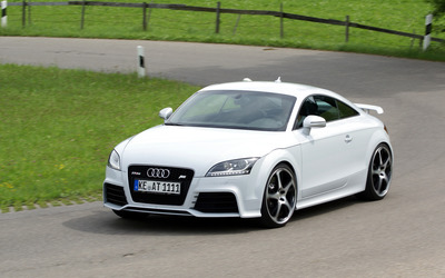 ABT White Audi TT RS wallpaper