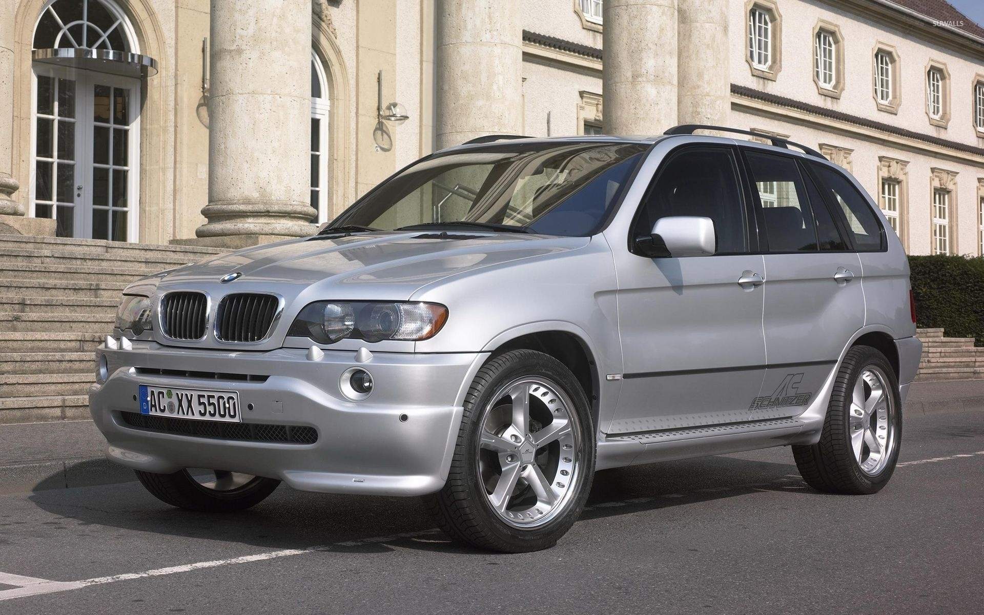 Ac Schnitzer Silver Bmw X5 Wallpaper Car Wallpapers 52660
