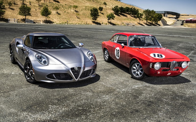Alfa Romeo 4C [26] wallpaper