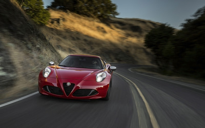 Alfa Romeo 4C [71] wallpaper