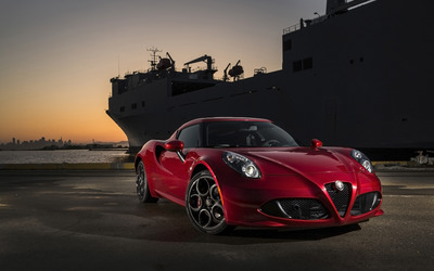Alfa Romeo 4C [21] wallpaper
