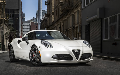 Alfa Romeo 4C [6] wallpaper