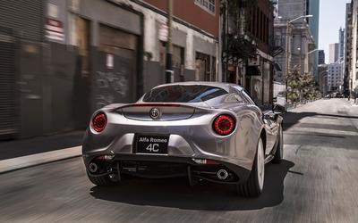 Alfa Romeo 4C [57] wallpaper