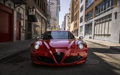 Alfa Romeo 4C [24] wallpaper