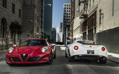 Alfa Romeo 4C [56] wallpaper