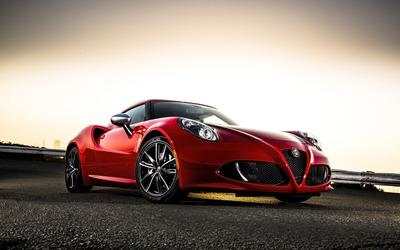 Alfa Romeo 4C [9] wallpaper