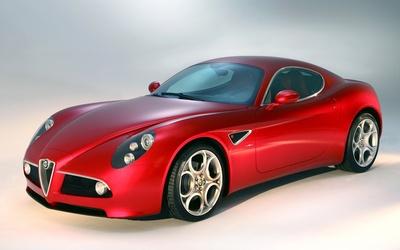 Alfa Romeo 8C Competizione [2] wallpaper