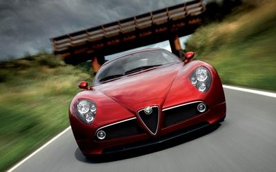 Alfa Romeo 8C Competizione [7] wallpaper