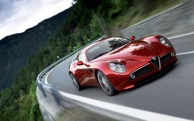 Alfa Romeo 8C Competizione [3] wallpaper