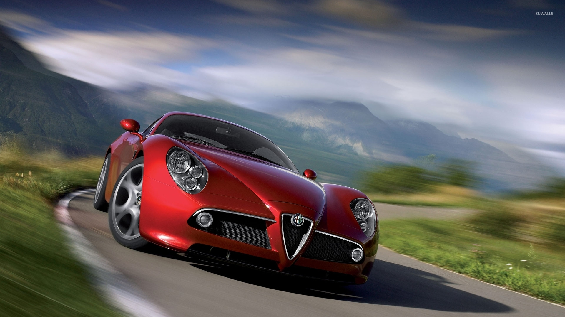 alfa romeo 8c competizione 6 wallpaper car wallpapers