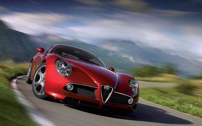 Alfa Romeo 8C Competizione [6] wallpaper