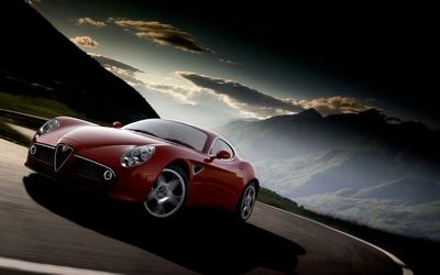 Alfa Romeo 8C Competizione [4] wallpaper