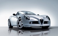 Alfa Romeo 8C Spider [2] wallpaper 1920x1200 jpg