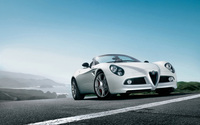 Alfa Romeo 8C Spider wallpaper 1920x1200 jpg