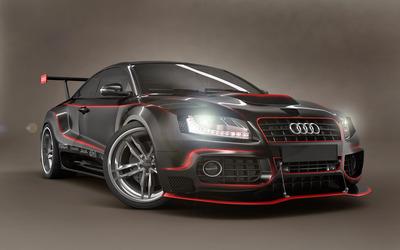 Audi A5 GTR wallpaper