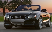 Audi A5 quattro convertible front view wallpaper 1920x1080 jpg