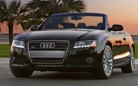 Audi A5 quattro convertible front view wallpaper 1920x1080 jpg