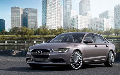 Audi A6 L e-tron Concept wallpaper