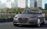 Audi A6 L e-tron Concept [2] wallpaper 2560x1440 jpg