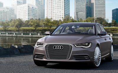Audi A6 L e-tron Concept [2] wallpaper