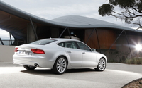 Audi A7 back side view wallpaper 1920x1200 jpg