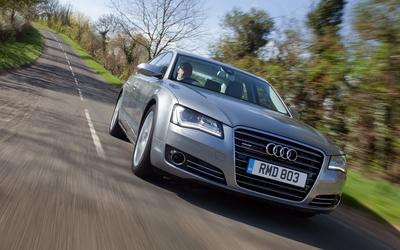 Audi A8 [4] wallpaper