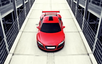 Audi R8 top view wallpaper 1920x1080 jpg