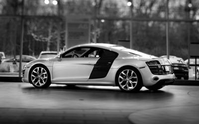 Audi R8 V10 wallpaper
