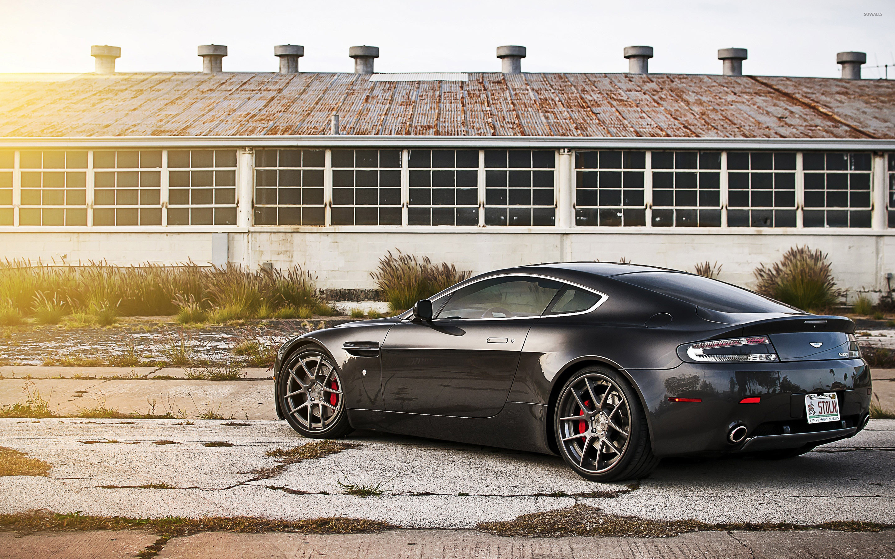 aston martin vantage 2018 side view. Back Side View Of A 2013 Aston Martin Vanquish Wallpaper Vantage 2018